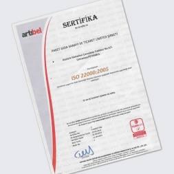 ISO 22000 (İşleme-Satış)